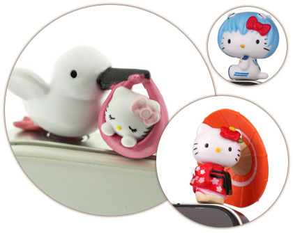 Hello Kitty Earphone jack plug iPhone accessory