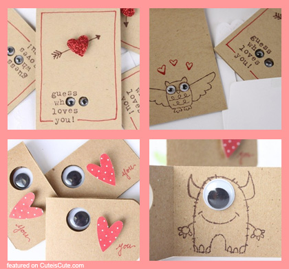 Valentine Cards Galore – Monster Valentine Cards