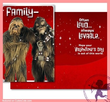Funny Star Wars Valentine cards