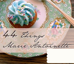 44 Things Marie Antoinette