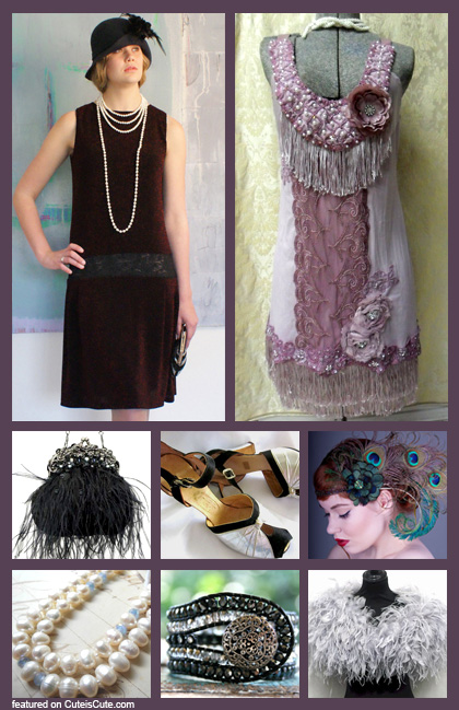 Flapper costume inspiration