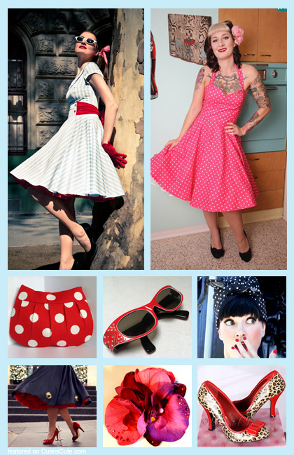 Rockabilly costume