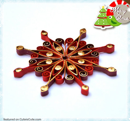 Eco-friendly paper Christmas decoration