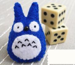 Cute Totoro Felt Ring