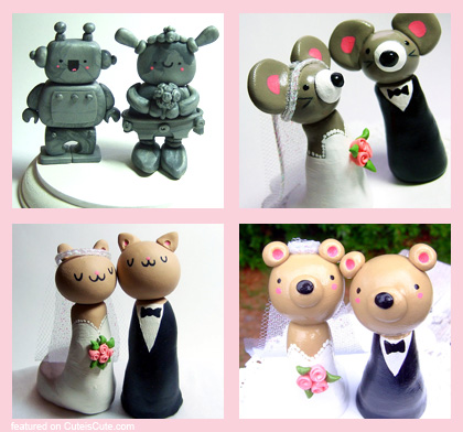 The Happy Acorn Cake toppers