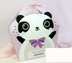 Wrapping the Lilac Panda Way