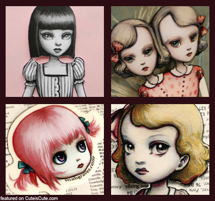 Mab Graves Little Girls
