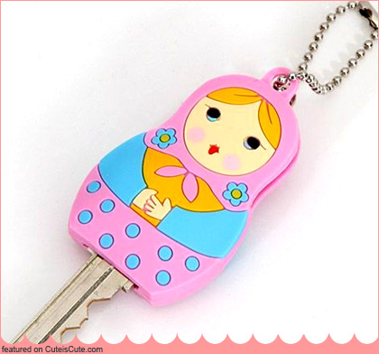 Matryoshka key cover