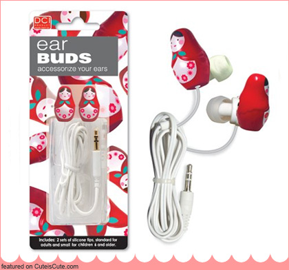 Matryoshka ear buds