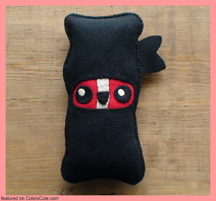 Ninja Bacon Plush