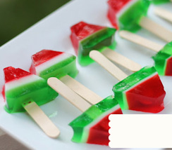Cute Watermelon Jello Shots