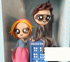 Dr. Who and Rose Diorama