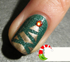 20 Super Christmas Nail Art Tutorials